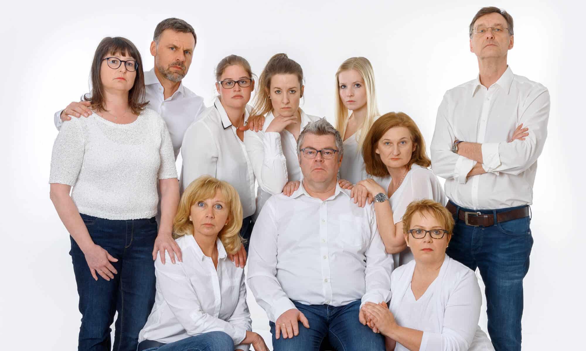 Die komplette Gruppe